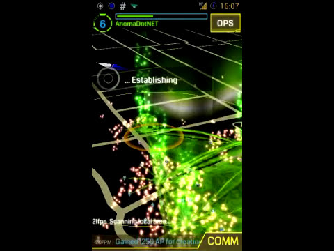 Ingress Jarvis Virus effects on an unlinked Resistance portal