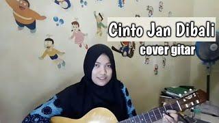 Belajar lagu minang cinto jan dibali (Ratu Sikumbang) cover by Nur Azizah