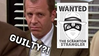 Reasons why Toby IS The Scranton Strangler (The Office fan theory)