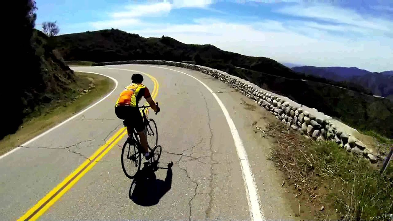 Gmr Glendora Mountain Road Cycling Descent Youtube