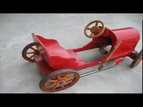 Wooden Pedal Car Plans Free