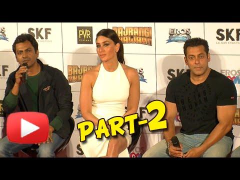 UNCUT Bajrangi Bhaijaan Trailer Launch | Salman Khan, Kareena Kapoor, Nawazuddin Siddiqui | Part 2