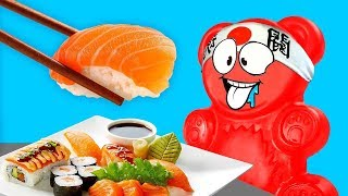 SUPER SUSHI OR JAPANESE ADVENTURES OF JELLY GUMMY BEAR