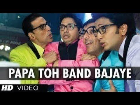 Papa Toh Band Bajaye Full Song  Housefull 2   Akshay Kumar, John Abraham, Ritesh Deshmukh