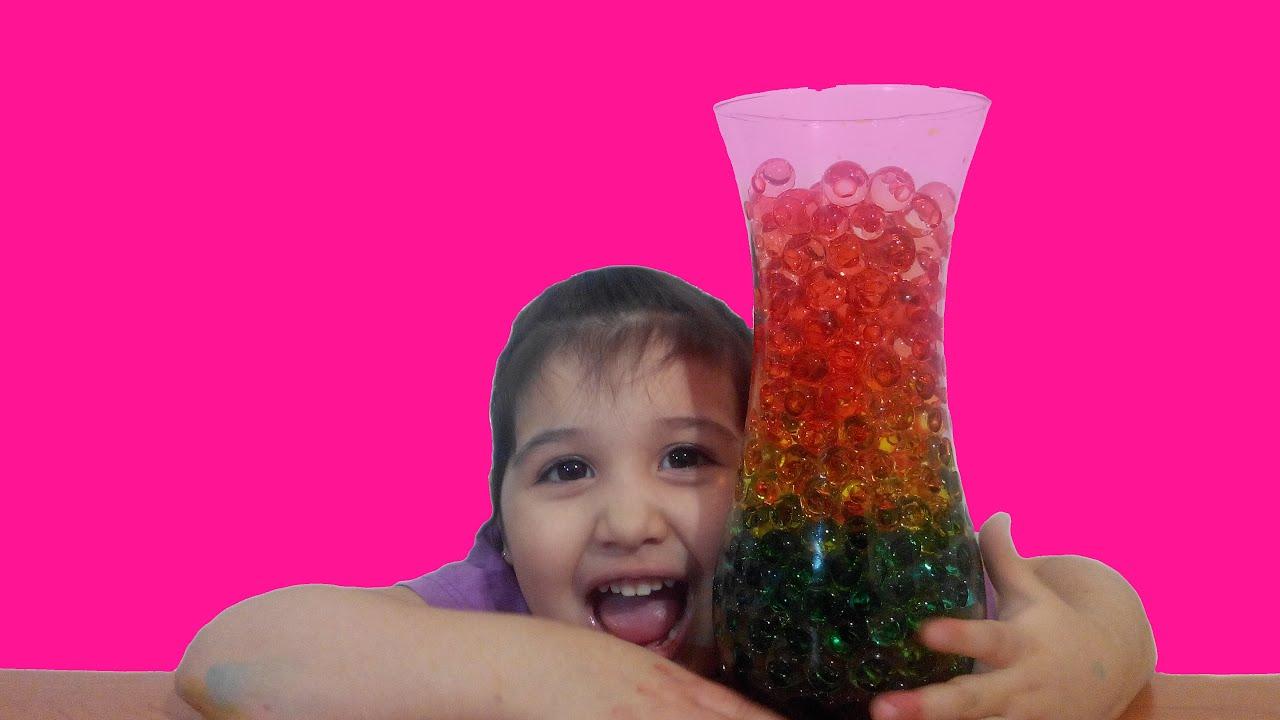 Как сделать шары которые растут в воде