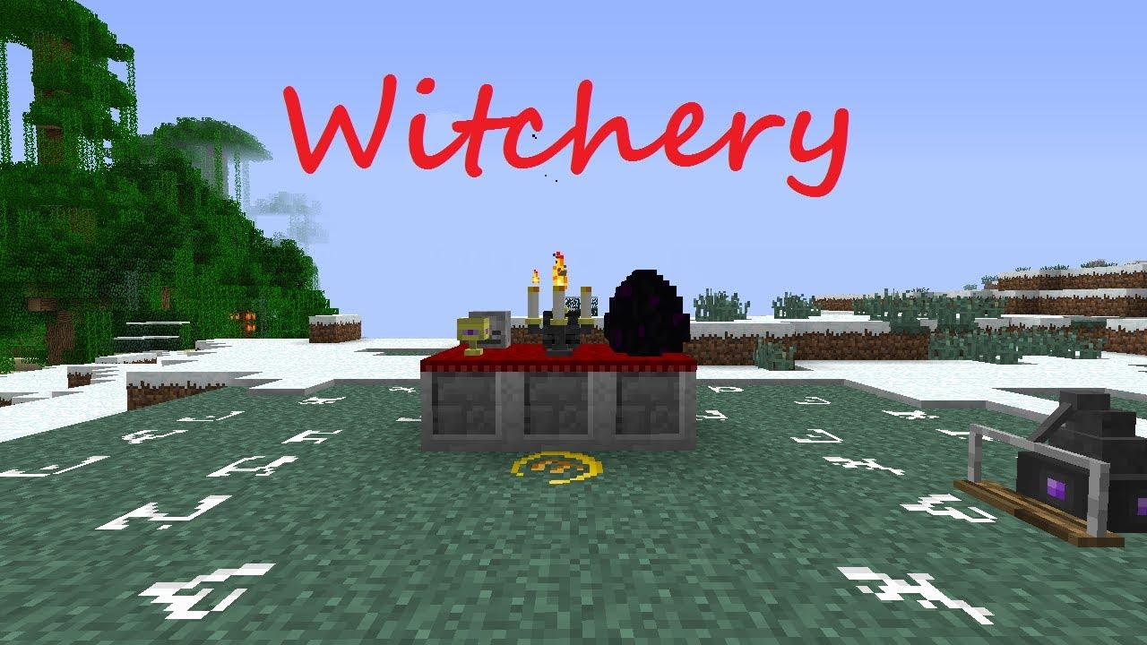 Minecraft witchery 1710 - 3