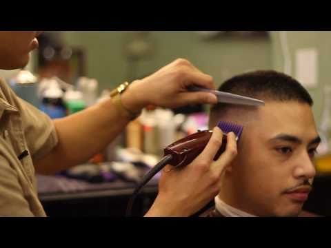 Barber Shop In Spanish : Bald Fade Haircut Tutorial