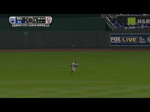 ALCS Gm3: Gausman retires Cain for 1-2-3 8th inning