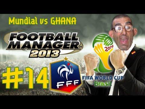 Football Manager 2013 | Benito Camela Brazil 2014 #14 | Mundial vs Ghana