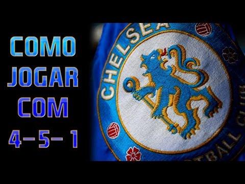 FIFA 15 - COMO JOGAR COM O CHELSEA! (4-5-1)