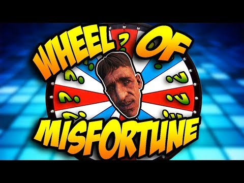 "Wheel Of Misfortune ""BURIED"" Edition! (Call of Duty BO2 Zombies)"