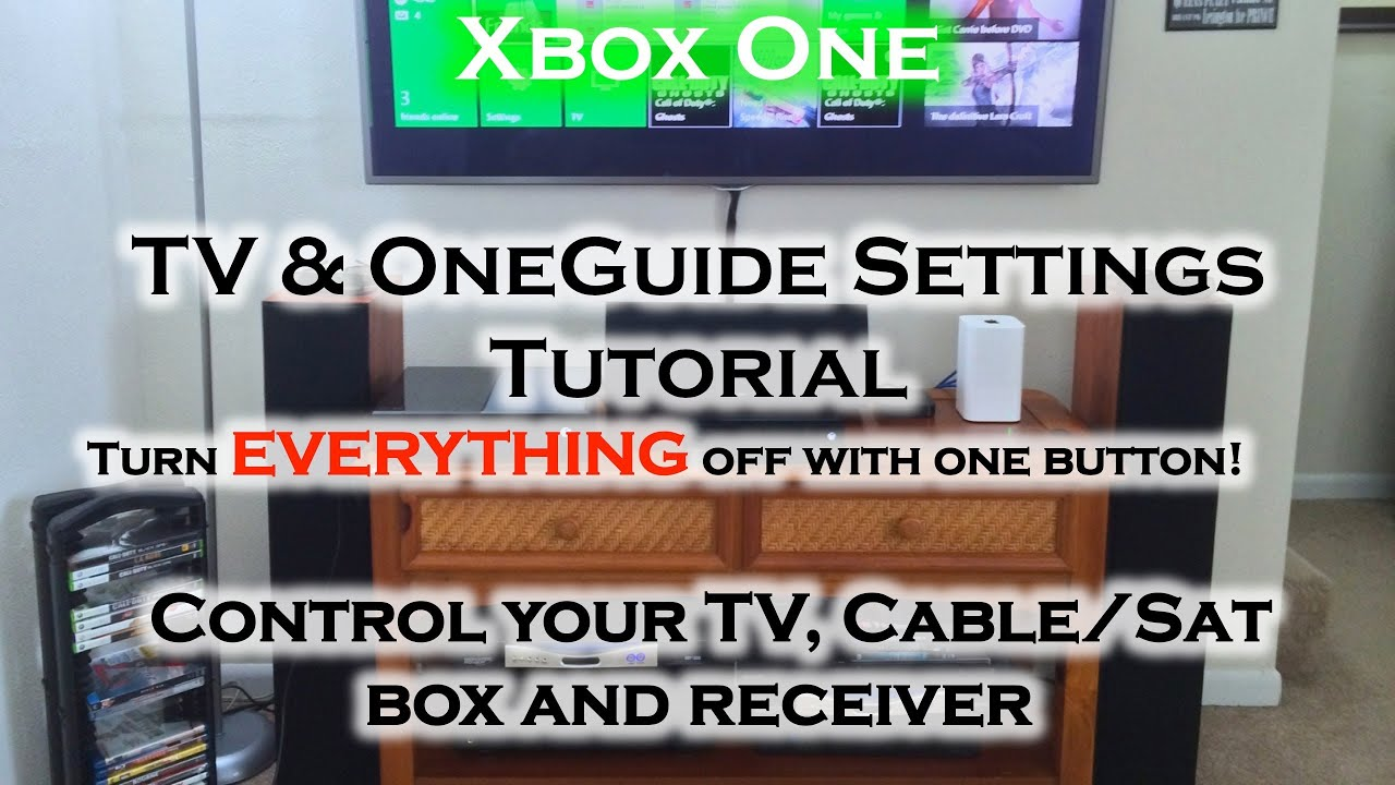 how to connect my xbox one to my samsung tv