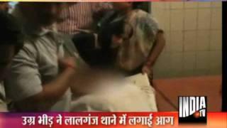 Hindu Yuva Vahini Leader Shot, Violence In Basti