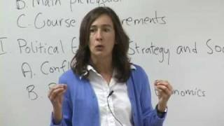 Political Science 30: Politics and Strategy, Lec 1, UCLA