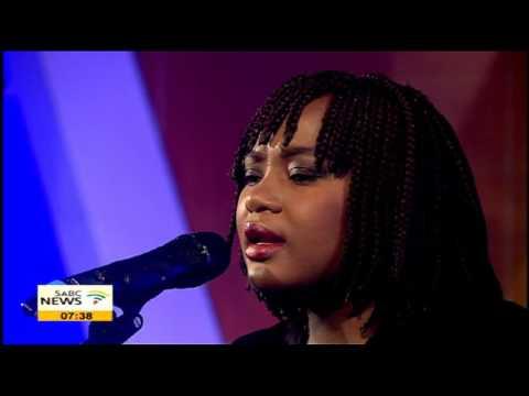 Amanda Mankayi serenades Morming Live