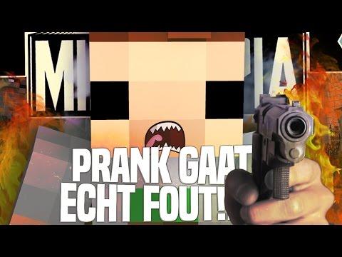 IK WORD VERMOORD! PRANK GAAT ECHT FOUT!! - Minetopia Life #3