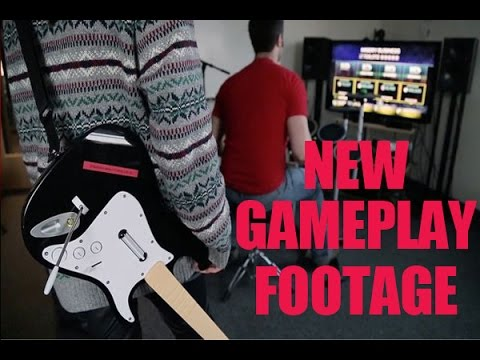 Rock Band 4 New Gameplay Footage & Guitar Hero Live & TV News!