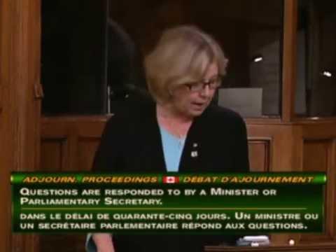 Elizabeth May: Adjournment Proceedings -- Canada-China FIPA