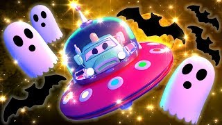 Baby Cars -  Special HALLOWEEN - Trick or Treat - Car City ! Cars and Trucks Cartoon for kids