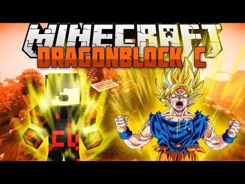 Minecraft Mod Showcase: Dragon Block C Mod [Become a Super Saiyan]