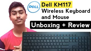 Dell KM117 Unboxing And Review | Best Wireless Budget Keyboard and Mouse [Hindi]