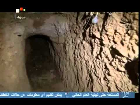 Syria News 14.7.2013, Army discovers 2 terrorists tunnels, ambushes infiltration from Jordan