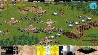 C1T1 AoE 44 Random BiBiClub vs GameTV Ngày 25-12-2017