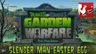 Plants vs Zombies: Garden Warfare - Slender Man Easter Egg