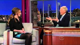 Jennifer Lawrence Interview with David Letterman