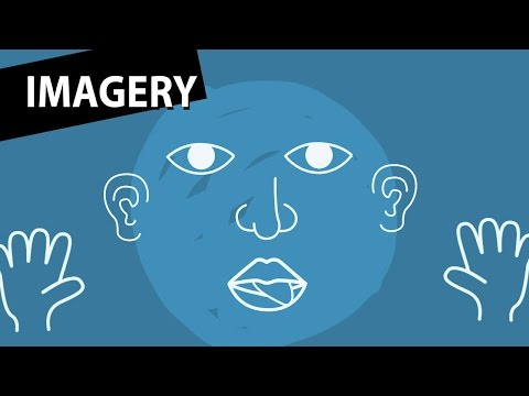writers use imagery to Many poetry instructors teach about imagery and description in the first  we  imagine the writer may actually be looking at a shirt as he begins writing this   this is a helpful entry point—an open door, to use an image—for.