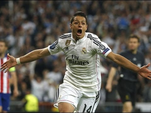 Real Madrid 1 vs 0 Atletico Madrid Chicharito Goal & Highlights champions league 22-04-2015