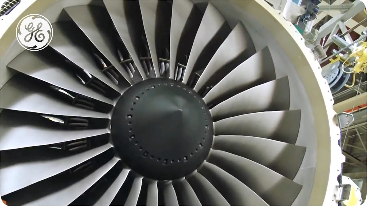 Jet Engine Fan Blades : Ge and genx composite fan blades youtube
