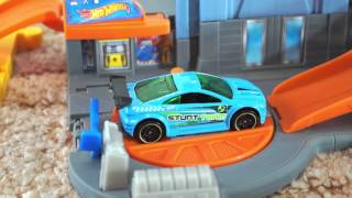 Hot Wheels Track.  Cars For Kids. Toys