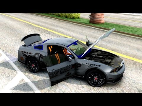 2010 Ford Mustang Cobra Jet   #120 New Cars / Vehicles 3 to GTA San Andreas [ENB]
