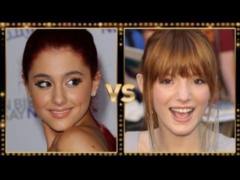 Ariana Grande Vs. Bella Thorne: Round 1