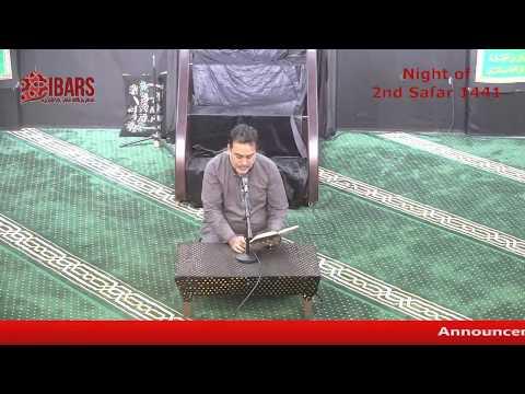 1 Safar 1441 -  Marsiyyah