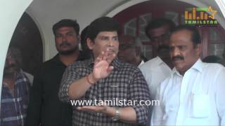 Actor Anandaraj Press Meet