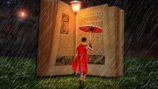 Book Rain Effect - Photoshop Manipulation Tutorial