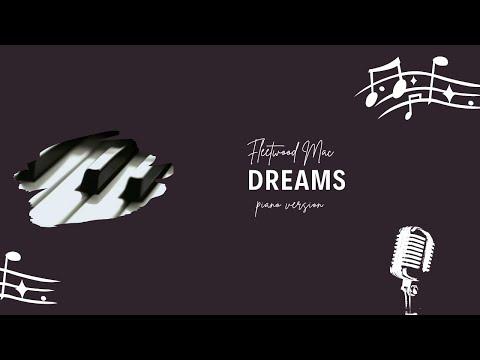 Fleetwood Mac Dreams (piano cover)