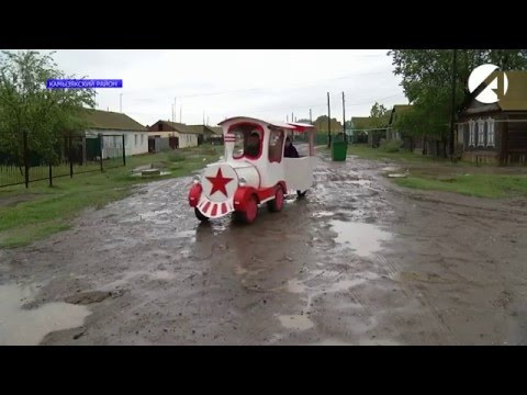 Астраханский кулибин изобрел фанерный паровоз
