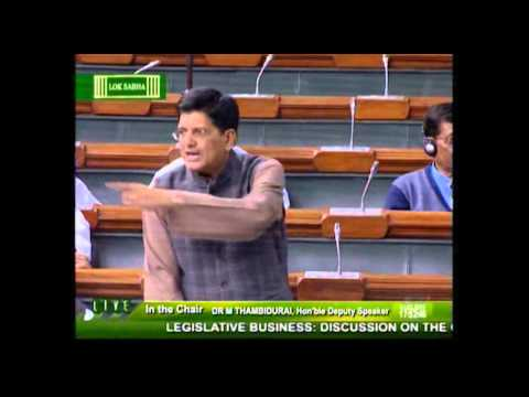 Discussion on the coal mines (Special Provisions) Bill, 2015: Shri Piyush Goyal: 03.03.2015