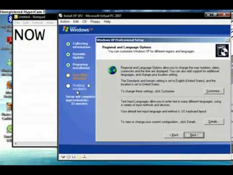 How to Format and Install Windows XP Service Pack 2