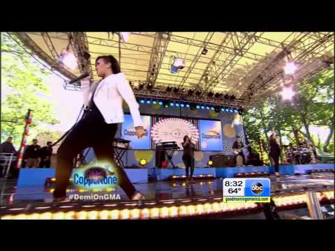 Demi Lovato - Really Don't Care feat. Cher Lloyd (Live on GMA)