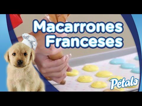 Receta de Macarrones Franceses - Tu Cocina Pétalo®