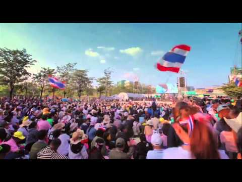กำนันสุเทพ Thailand Protests Shutdown Bangkok Time Lapes