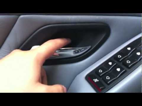 E39: How to replace the inner door handle on your BMW