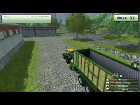 LP Farming Simulator 2013 #9 - Straw Struggles