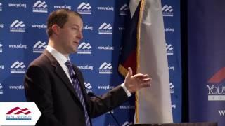 David Hacker at YAF Freedom Conference, Dallas