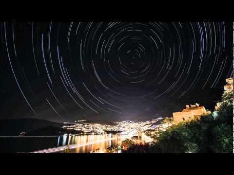 Star Trails over Kalkan,Turkey