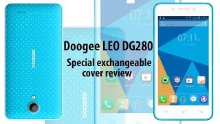 Review LEO´s DG280 protective case from Doogee, it protects your screen.